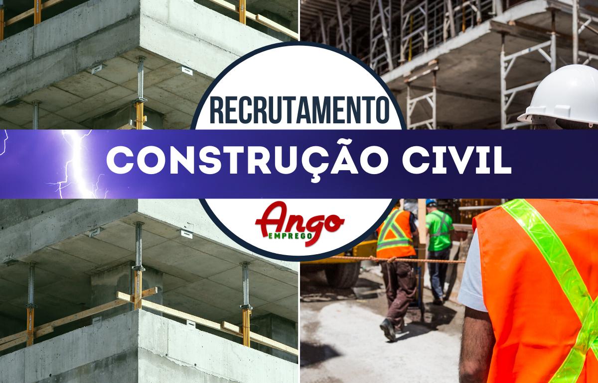 Recruta-se Preparador/Orçamentista Construção Civil