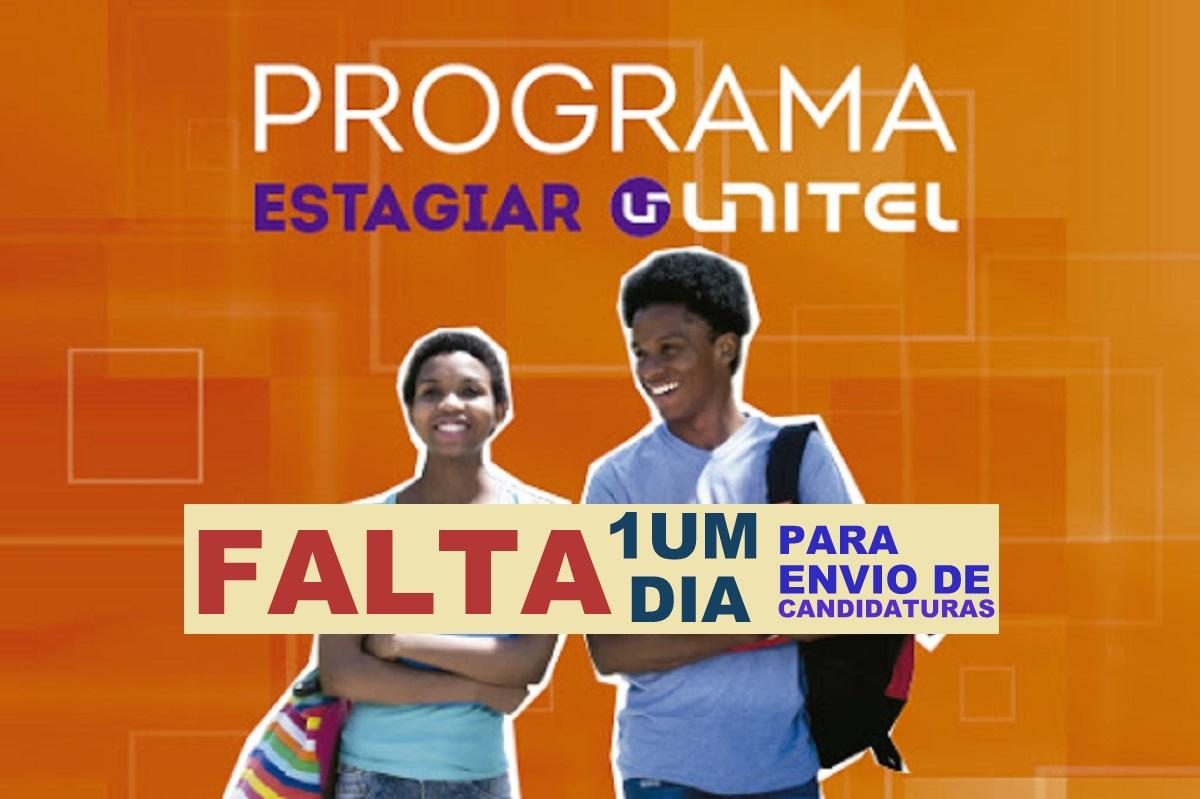 Programa Estagiar UNITEL 2020 – Falta 1 dia para Envio de Candidaturas
