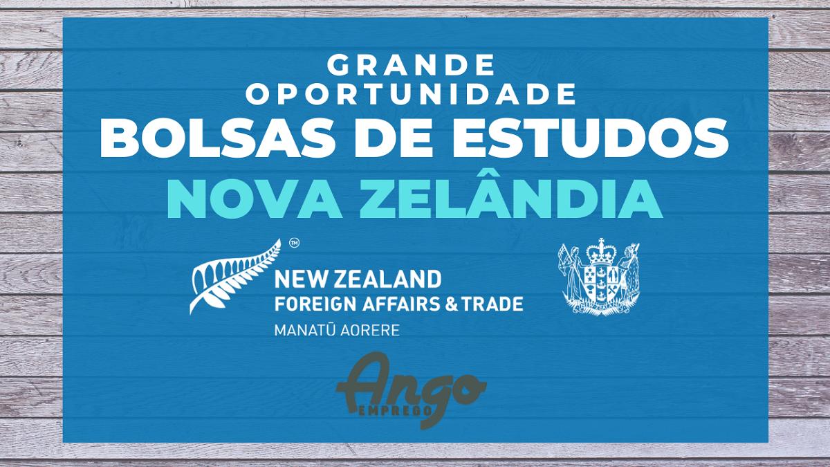 Bolsas de Estudo: Nova Zelândia para Estudantes Angolanos e Internacionais