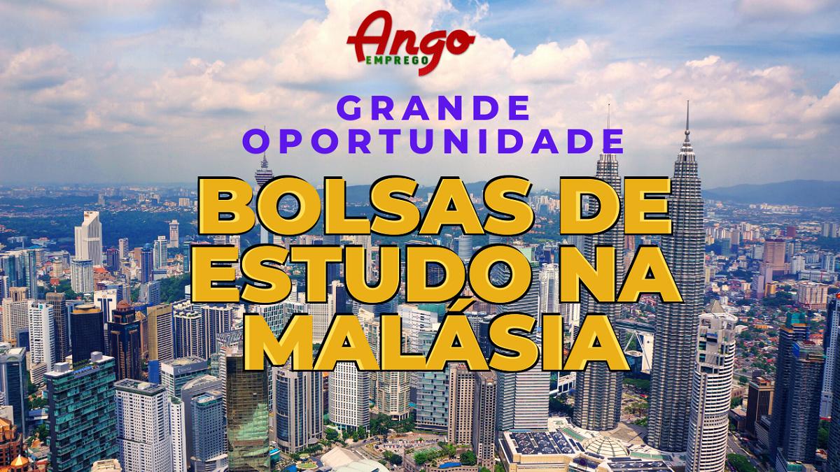 50 Bolsas de Estudo – Licenciatura na Malásia 2020