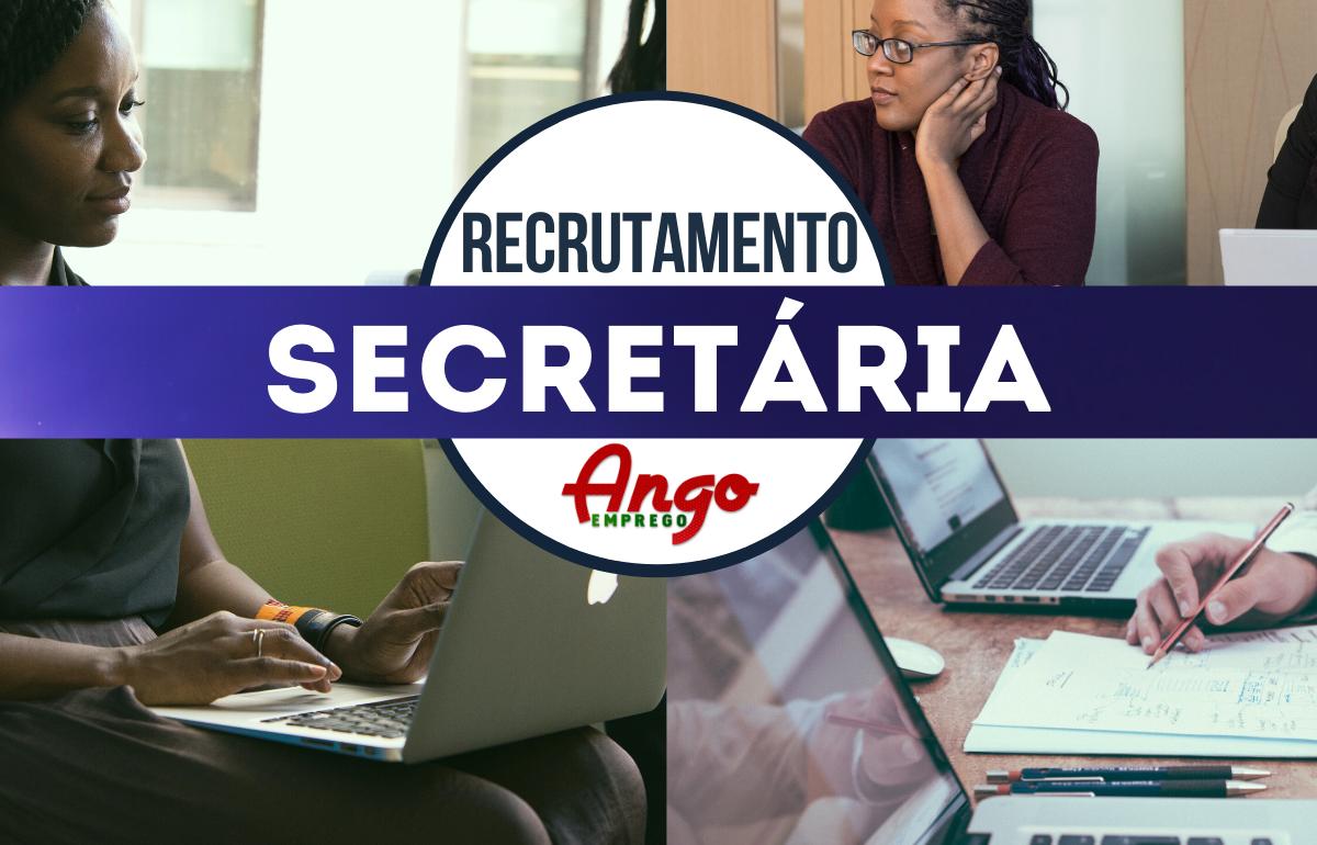 Recruta-se Secretária de Direcção