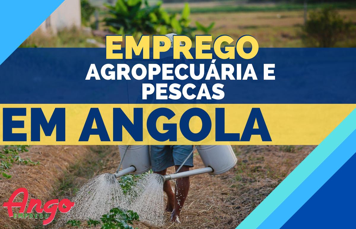 Recrutamento Agropecuária e Pesca em Angola (Vagas)