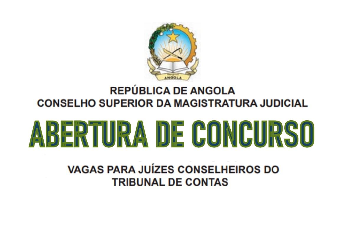 Concurso Público para Juízes Conselheiros do Tribunal de Contas