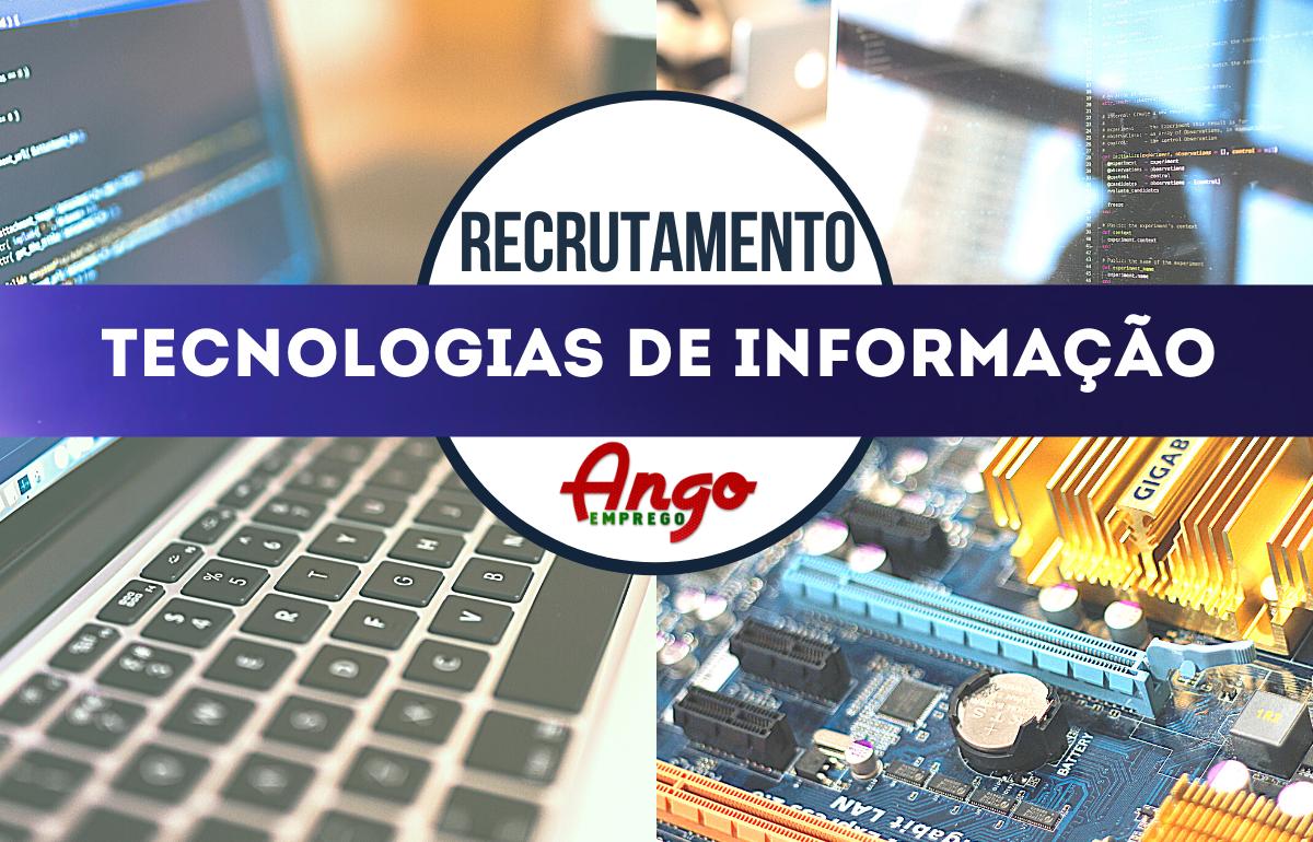 Recruta-se Consultores Sénior para TI-TECNOLOGIAS DE INFORMAÇÃO