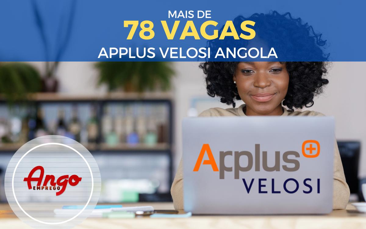 Mais de 78 Vagas em Várias Áreas na APPLUS Angola