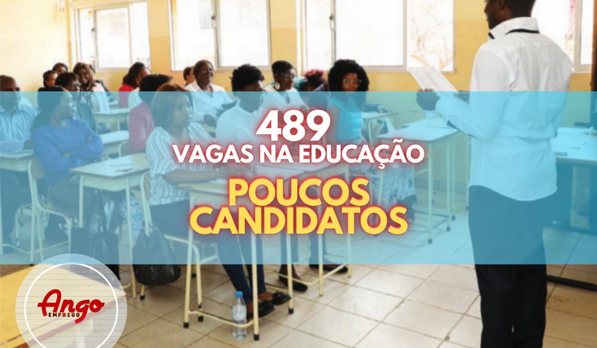 Concurso Público na Educação de 489 vagas regista poucos concorrentes no Bengo
