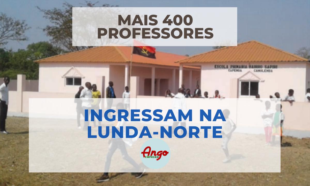 Mais 400 Professores ingressam na Educação